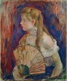 Berthe Morisot - Young Girl with Fan
