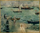 Berthe Morisot - The Marina,Isle of Wight,1875. Canvas Pr