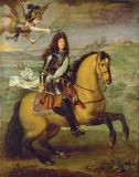 Pierre Mignard - Equestrian Portrait of Louis XIV (1638-1715)
