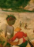 Pieter Brueghel der Ältere - The Hay Harvest. Detail of 40-02-03/57 O