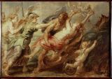 Peter Paul Rubens - The Abduction of Proserpina, c. 1636