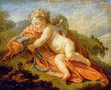 François Le Moyne - Sleeping Cupid