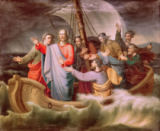 Wilhelm Kretzschmer - Christ orders the storm to cease