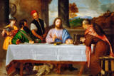 Tizian - The disciples in Emmaus