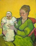 Vincent van Gogh - Madame Roulin with her child Marcelle