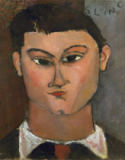 Amedeo Modigliani - Moise Kisling, painter,1915 Canvas,37 x