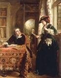 John Callcott Horsley - The Poet's Theme