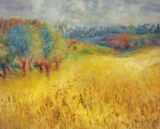 Pierre Auguste Renoir - The cornfield