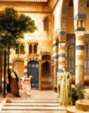 Lord Frederick Leighton - Old Damascus: Jew's Quarter or Gathering Citrons