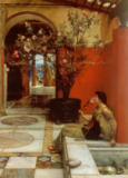 Sir Lawrence Alma-Tadema - The Oleander