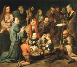 Bartholomé Estéban Murillo - Saint Diego of Alcalá feeding the poor