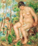 Pierre Auguste Renoir - The Bather, c.1915