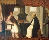 Francisco de Zurbaran - St. Bruno and Pope Urban II