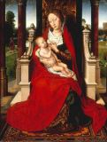 Hans Memling - Enthroned Virgin with Child