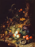 Rachel Ruysch - Still life with flowers, fruits and insects