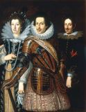 Justus Sustermans - Cosimo II. Medici and family