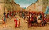 Francesco Granacci - Charles VIII marches into Florence