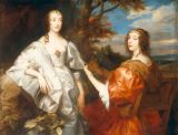 Anthonis van Dyck - Portrait of Katherine, Countess of Chesterfield and Lucy, Countess of Huntingdon