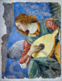 Melozzo da Forli - Angel Making Music / Fresco / 1480