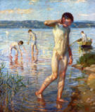 Christian Landenberger - Bathing Boys (Dingelsdorf) II