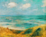 Pierre Auguste Renoir - The coast in Guernsey