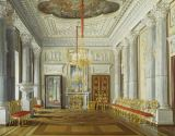 Eduard Petrowitsch Hau - Gatchina / Marble Dining Room / Painting