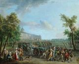 Jean-Baptiste Lallemand - The people arm themselves in the arsenal in the Hôtel des Invalides