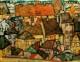 Egon Schiele - Yellow city