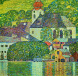 Gustav Klimt - Church in Unterach on the Attersee