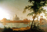 Thomas Daniell - The Taj Mahal at Arga taken from across the River Jumna