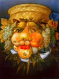 Giuseppe Arcimboldo - Portrait of the Man made of Fruit