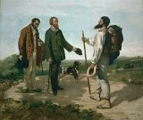 Gustave Courbet - 'The encounter (''Bonjour, M. Courbet'')
