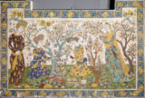 12. Jahrhundert - Women in garden / Persian wall covering