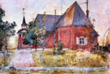 Carl Larsson - Larsson / The Old Church at Sundborn