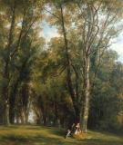Thomas Creswick - A Picnic in the Park