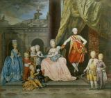 Zoffany Zoffany - Grand Duke Leopold of Tuscany & Family
