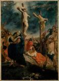Eugène Delacroix - Crucifixion, 1835. Canvas Musee de la Co