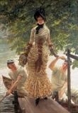 James Jacques Joseph Tissot - Sur la Tamise (Return from Henley)