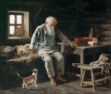 Iwan Andrejewitsch Pelewin - Old Man and his Cat