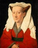 Hubert & Jan van Eyck - Portrait of Margarete van Eyck
