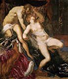 Jacopo Robusti Tintoretto - Tarquinius and Lucrecia, 1559 Canvas, 17