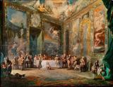 Luis Paret y Alcazar - King Charles III dining in the presence of his court