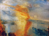 Joseph Mallord William Turner - The Burning of the Houses of Lords and Commons, October 16, 1834