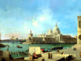 Antonio Canal - View of S.Maria della Salute from the estuary of the Canale Grande