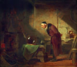 Carl Spitzweg - The Alchemist with Book in the Left