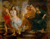 Peter Paul Rubens - Orpheus and Eurydice with Pluto and Proserpina