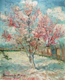 Vincent van Gogh - Peach Tree in Bloom (in Memory of Mauve)
