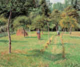 Camille Pissarro - The Orchard in Eragnysur-Epte