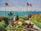Claude Monet - Terrasse in Sainte-Adresse