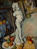 Paul Cézanne - The plaster putto